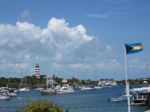Hopetown Harbour and Lighthouse