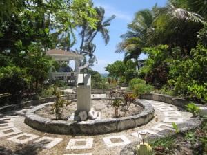 Monument Garden for important Hopetown residents