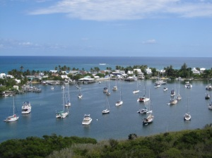 Hopetown Harbour from the Lighthouse