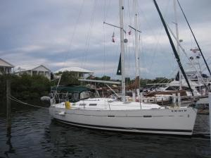 Sylestial Star in Leeward Marina on Green Turtle Cay