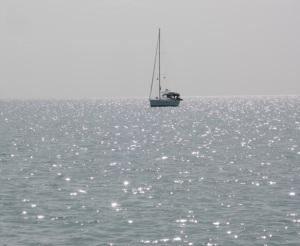 Sylestial Star at anchor
